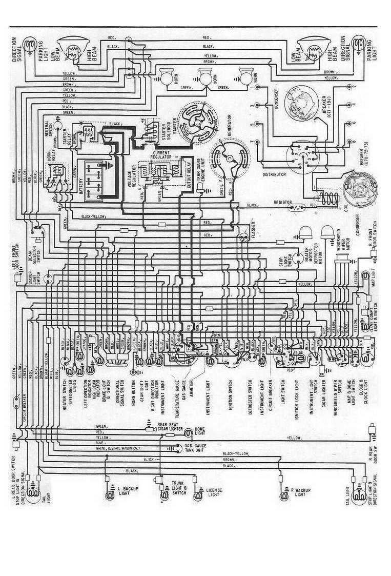 Download Nissan Starter Wiring Diagram